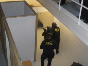 DEA agents at Quantico/ticklethewire.com photo
