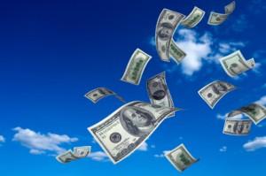 flying-money