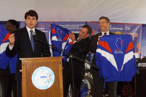 Ex-Gov Blagojevich as gov/state photo