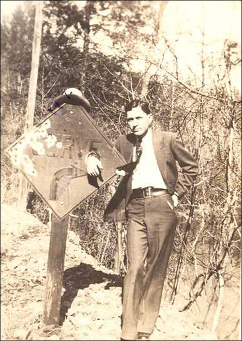 Clyde Barrow/fbi photo