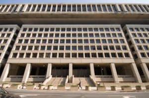 The FBI's current headquarters in Washington D.C.