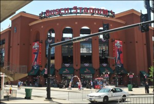 Busch Stadium in St. Louis/fbi photo