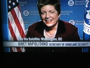 Janet Napolitano on Bill Maher Show