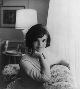 Jacqueline Kennedy-1961/white house photo