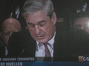 Mueller testifying before Congress/cspan photo