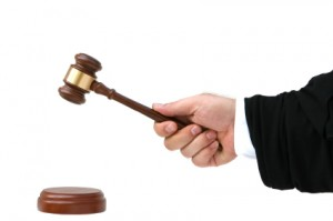 judge and gavel