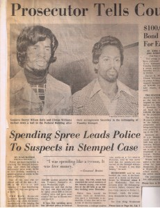 Suspects in 1975 kidnapping of GM exec's son/ detroit free press