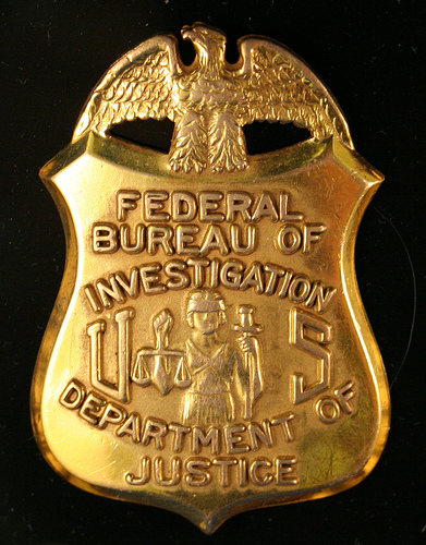 Tickle the wirefbi special agent fired amid allegations of - Fbi badge wallpaper ...