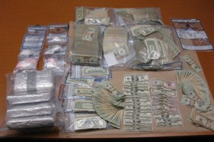 Drugs and cash seized in Portland.