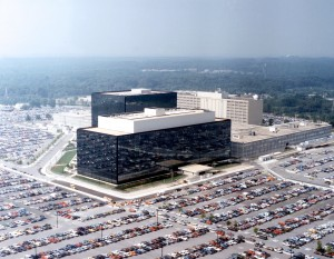 The NSA headquarters in Maryland.