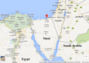 Google-map-Sinai