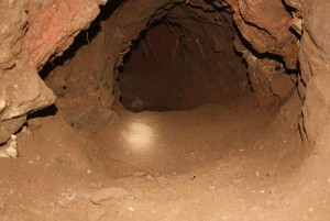 Cross-border tunnel discovered by authorities this year.