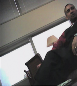 Screenshot of video of  former Charlotte Mayor Patrick Cannon.