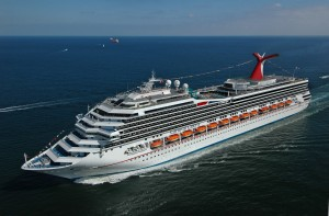 A Carnival Cruise boat.