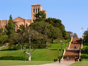 UCLA campus, via Wikipedia.
