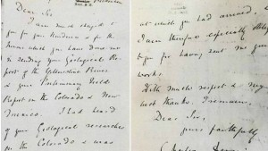 This Charles Darwin letter was stole in the 1970s and was recently recovered.