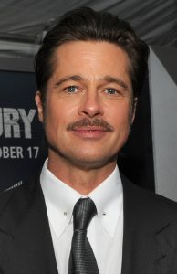 Actor Brad Pitt, via Wikipedia