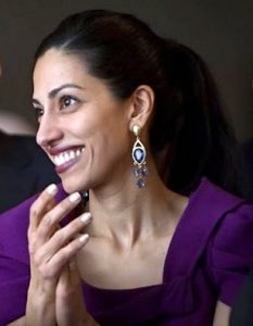 Huma Abedin, via Wikipedia