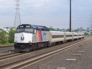 New Jersey Transit train, via Wikipedia.
