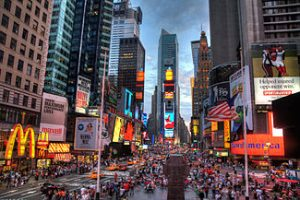 Times Square, via Wikipedia