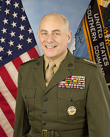 Former Homeland Security Secretary John Kelly