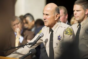Former Los Angeles County Sheriff Lee Baca, via Wikipedia.