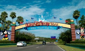 Walt Disney World, via Wikipedia.