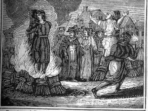 Illustration of a witch hunt, via Wikipedia.