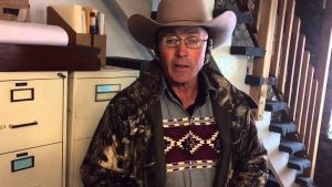 "Robert ""LaVoy"" Finicum was the spokesman of the occupation. Via YouTube."