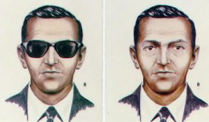 FBI sketch of D.B. Cooper
