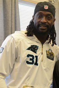 Former football star Charles Tillman