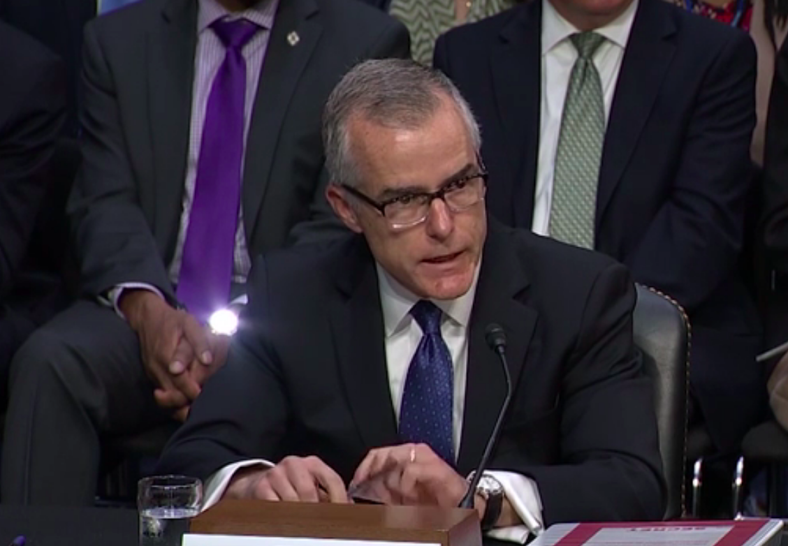 Andrew McCabe expected to retire from Federal Bureau of Investigation  early next year