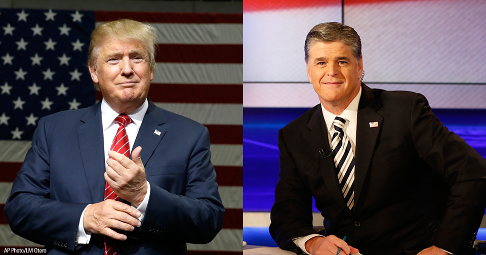 Hannity shares world view with Trump, and lawyer, too