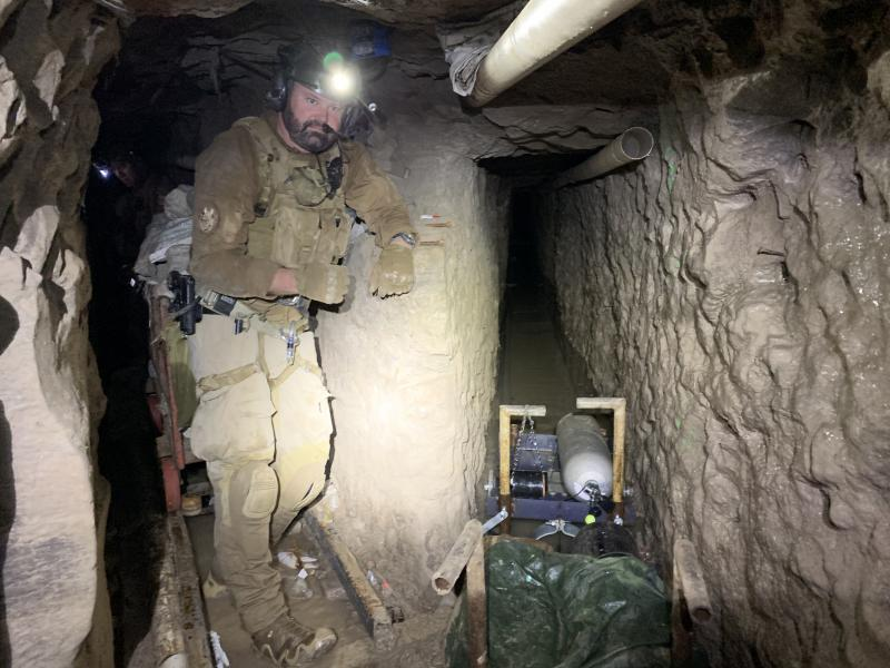 Longest smuggling tunnel found at San Diego border